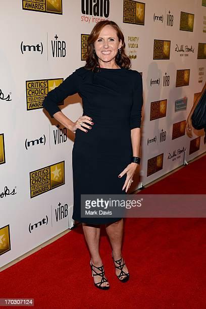 Actress Molly Shannon arrives at Broadcast Television Journalists Association's third annual Critics' Choice Television Awards at The Beverly Hilton...