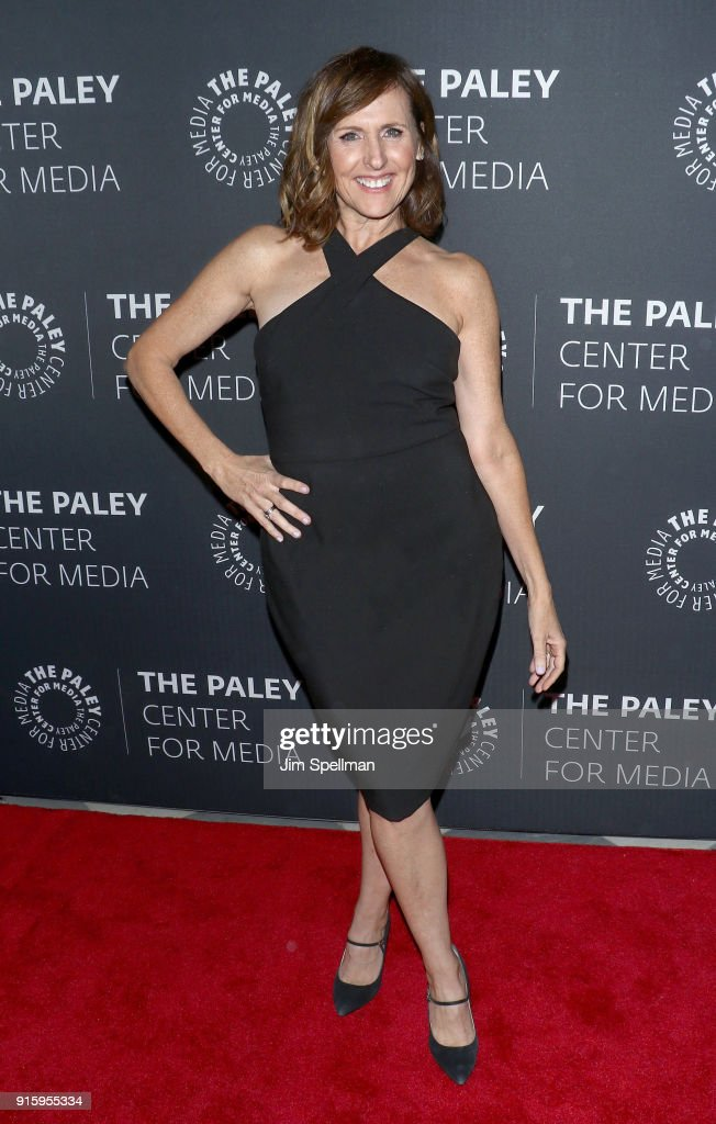 Actress Molly Shannon attends an evening with the cast of 'Divorce' at The Paley Center for Media on February 8, 2018 in New York City.