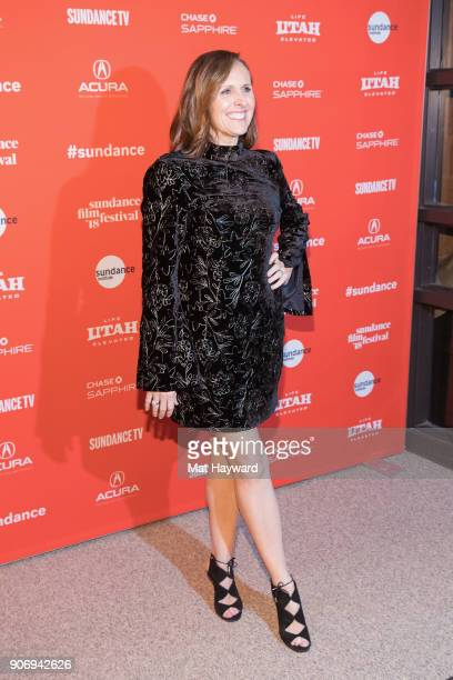 Actress Molly Shannon attends the 2018 Sundance Film Festival Premiere of Netflix's 'Private Life' on January 18 2018 in Park City Utah