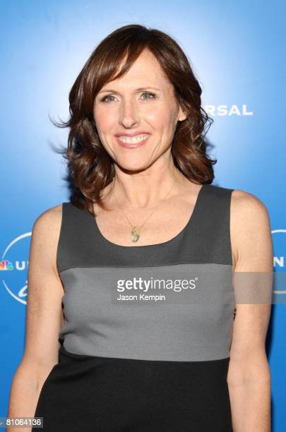 Actress Molly Shannon attends the NBC Universal Experience at Rockefeller Center on May 12 2008 in New York City