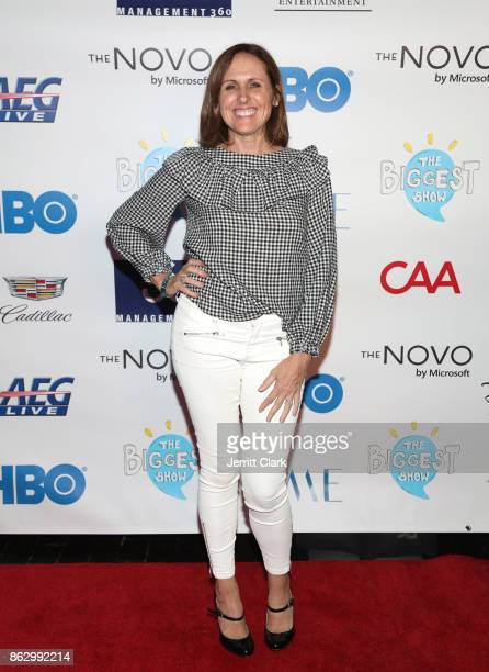 Actress Molly Shannon attends the Young Storytellers' 14th Annual Signature Event The Biggest Show at The Novo by Microsoft on October 18 2017 in Los...