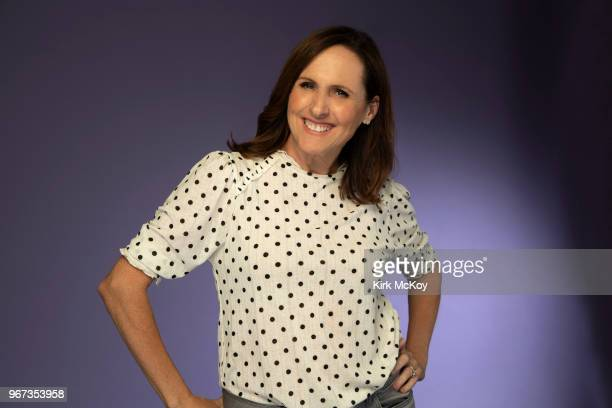Actress Molly Shannon is photographed for Los Angeles Times on April 30 2018 in Los Angeles California PUBLISHED IMAGE CREDIT MUST READ Kirk...