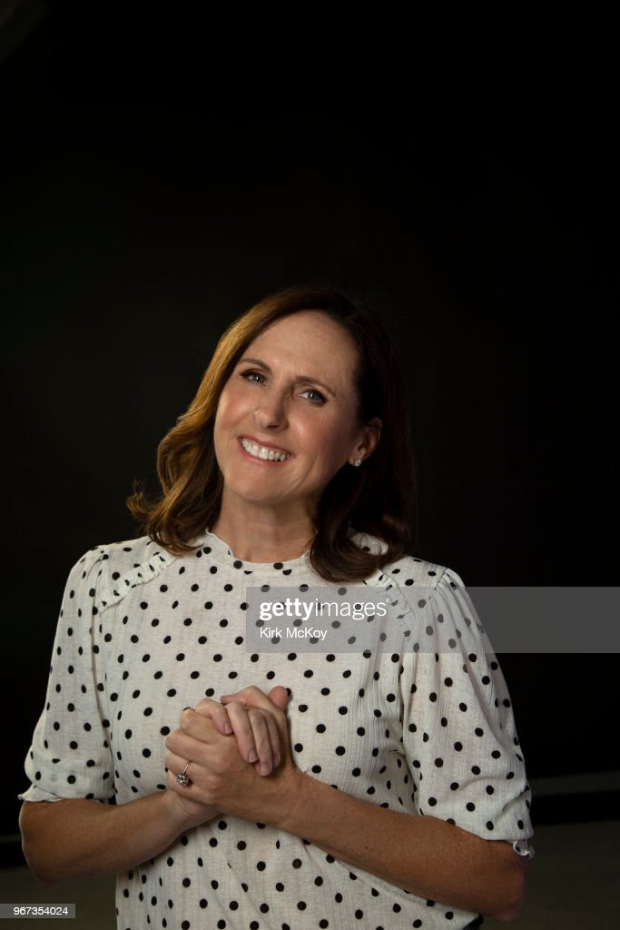 Actress Molly Shannon is photographed for Los Angeles Times on April 30, 2018 in Los Angeles, California. PUBLISHED IMAGE.