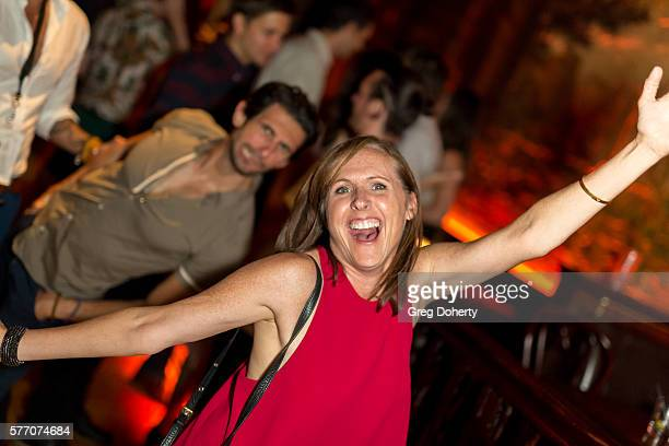 """Actress Molly Shannon poses for a picture at the 2016 Outfest Los Angeles Closing Night Gala Of """"Other People"""" After Party at The Theatre at Ace..."""