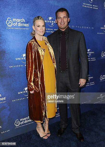 Actress Molly Sims and husband Scott Stuber attend the 2016 March of Dimes Celebration of Babies at the Beverly Wilshire Four Seasons Hotel on...