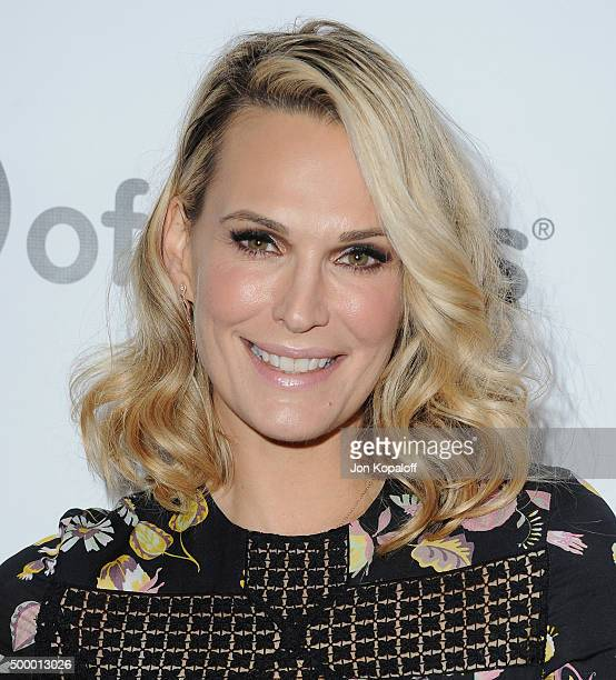 Actress Molly Sims arrives at the 2015 March Of Dimes Celebration Of Babies at the Beverly Wilshire Four Seasons Hotel on December 4 2015 in Beverly...
