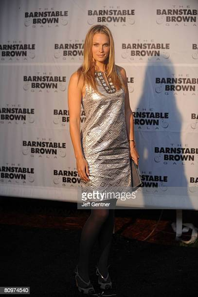 Actress Molly Sims arrives at the Barnstable Brown Kentucky Derby Eve Gala the on May 2 2008 in Louisville Kentucky