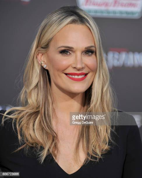 Actress Molly Sims arrives at the premiere of Lionsgate's 'Power Rangers' at The Village Theatre on March 22 2017 in Westwood California