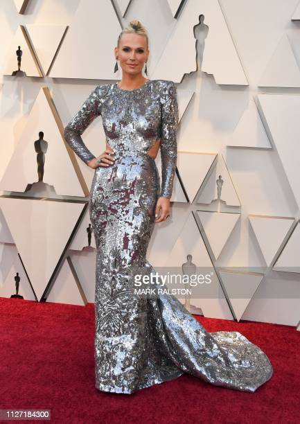 Actress Molly Sims arrives for the 91st Annual Academy Awards at the Dolby Theatre in Hollywood California on February 24 2019