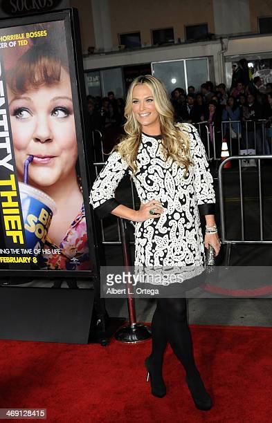 """Actress Molly Sims arrives for the Premiere Of Universal Pictures' """"Identity Thief"""" held at Mann Village Theater on February 4, 2013 in Westwood,..."""
