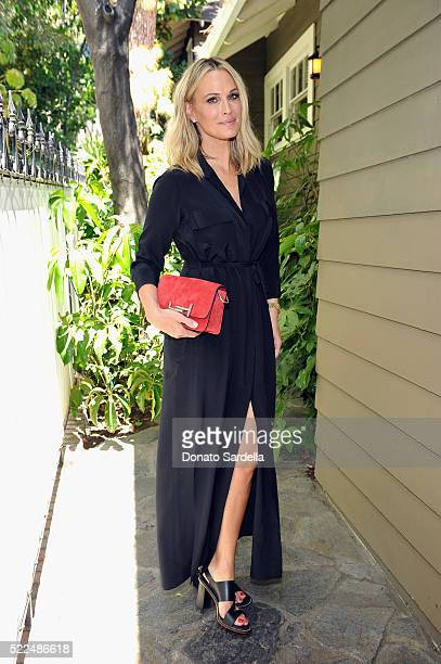 Actress Molly Sims attends Baby2Baby Luncheon hosted by Kelly Sawyer TOD'S at Chateau Marmont on April 19 2016 in Los Angeles California