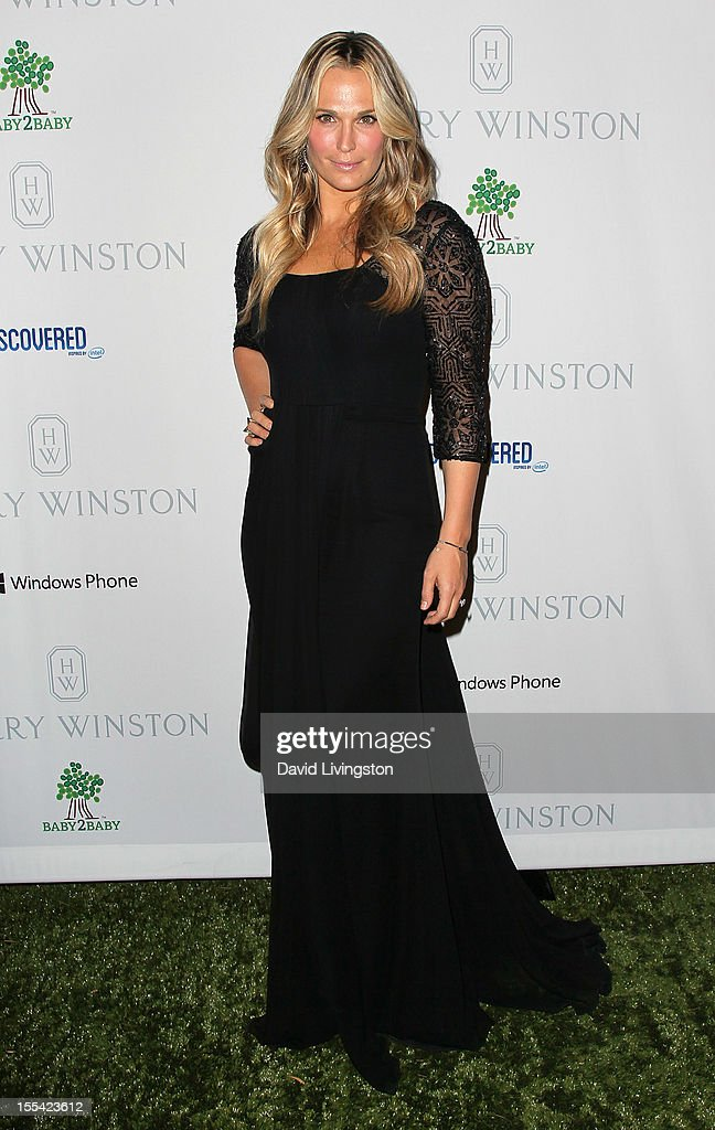 Actress Molly Sims attends the 1st Annual Baby2Baby Gala at The BookBindery on November 3, 2012 in Culver City, California.