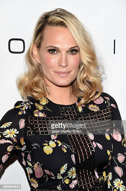 Actress Molly Sims attends the 2015 March Of Dimes Celebration Of Babies at the Beverly Wilshire Four Seasons Hotel on December 4 2015 in Beverly...