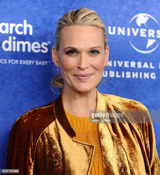 Actress Molly Sims attends the 2016 March of Dimes Celebration of Babies at the Beverly Wilshire Four Seasons Hotel on December 9 2016 in Beverly...