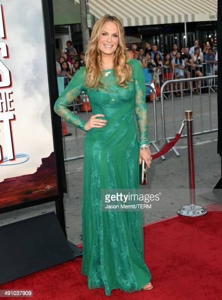 Actress Molly Sims attends the premiere of Universal Pictures and MRC's A Million Ways To Die In The West at Regency Village Theatre on May 15 2014...