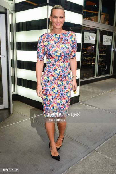 Actress Molly Sims enters Sephora Times Square on June 5 2013 in New York City
