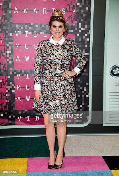 Actress Molly Tarlov attends the 2015 MTV Video Music Awards at Microsoft Theater on August 30 2015 in Los Angeles California