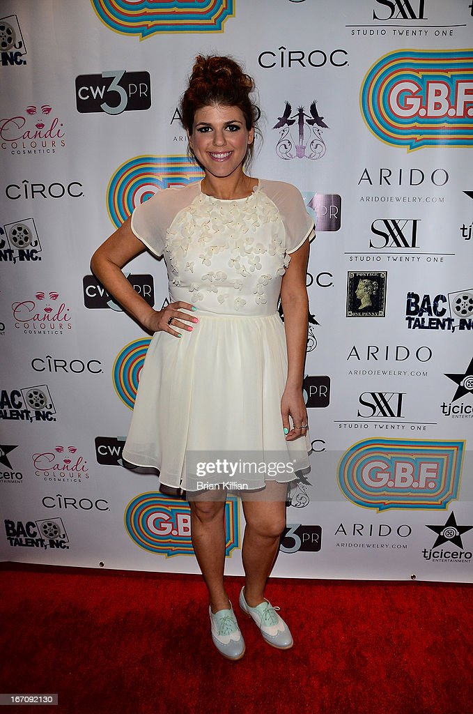 Actress Molly Tarlov attends the screening of 'G.B.F.' during the 2013 Tribeca Film Festival at Studio XXI on April 19, 2013 in New York City.