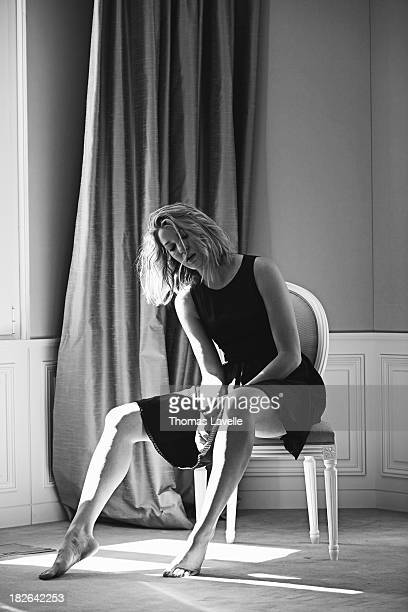 Actress Mona Walravens is photographed for Self Assignment on May 23 2013 in Cannes France