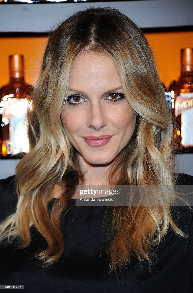 Actress Monet Mazur arrives at the Dita Von Teese and Cointreau Launch Cointreau Poolside Soirees event at the Beverly Hills Hotel on July 11, 2012 in Beverly Hills, California.