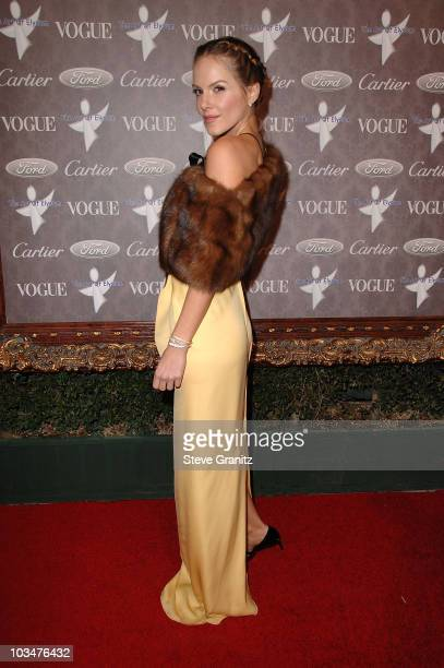 Actress Monet Mazur arrives to The Art of Elysium 10th Anniversary Gala at Vibiana on January 12, 2008 in Los Angeles, California.
