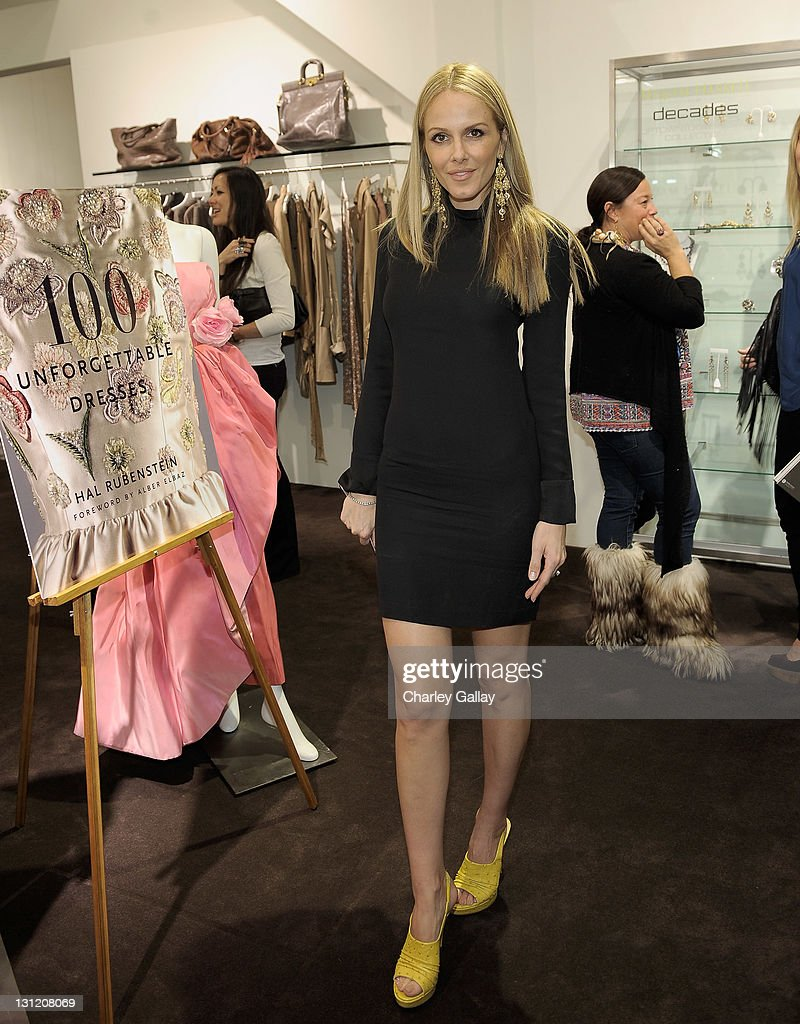 Actress Monet Mazur attends the Hal Rubenstein signing of '100  Unforgettable Dresses' at Decades