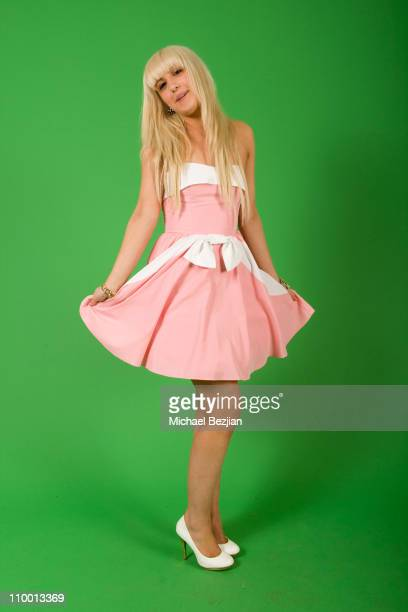 Actress Monet Monico attends the Rockin Valentine Teen Celebrity Bash at a Private Residence on February 7 2009 in Beverly Hills California