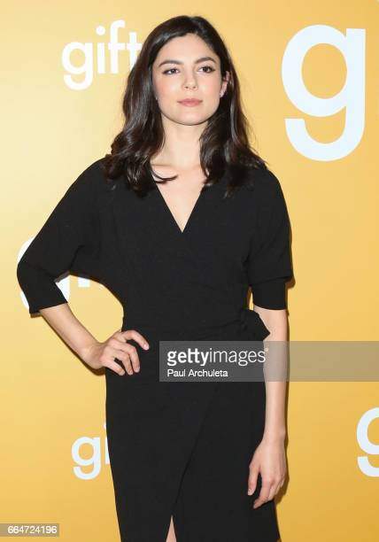 Actress Monica Barbaro attends the premiere of 'Gifted' at Pacific Theaters at the Grove on April 4 2017 in Los Angeles California