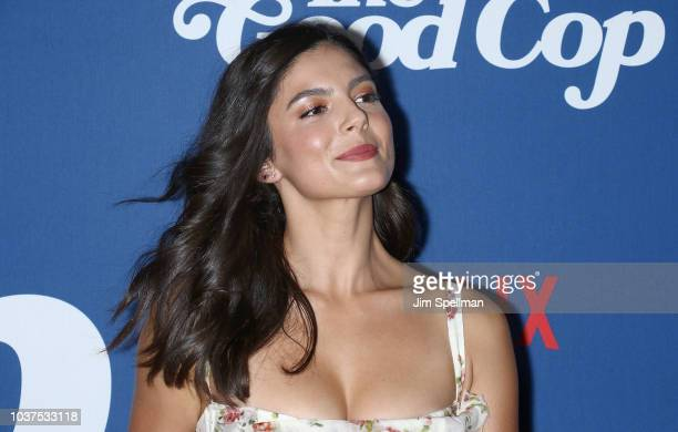 Actress Monica Barbaro attends the The Good Cop Season 1 premiere at AMC 34th Street on September 21 2018 in New York City