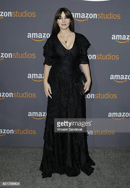 Actress Monica Bellucci attends Amazon Studios Golden Globes Party at The Beverly Hilton Hotel on January 8, 2017 in Beverly Hills, California.