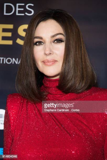 Actress Monica Bellucci attends the 23rd Lumieres Award Ceremony at Institut du Monde Arabe on February 5 2018 in Paris France
