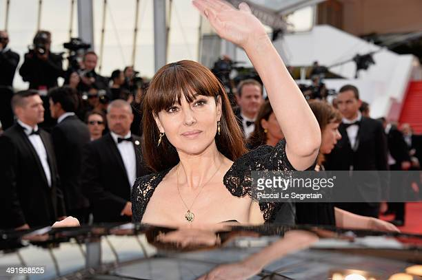 Actress Monica Bellucci attends the 'La Meraviglie' premiere during the 67th Annual Cannes Film Festival on May 18 2014 in Cannes France