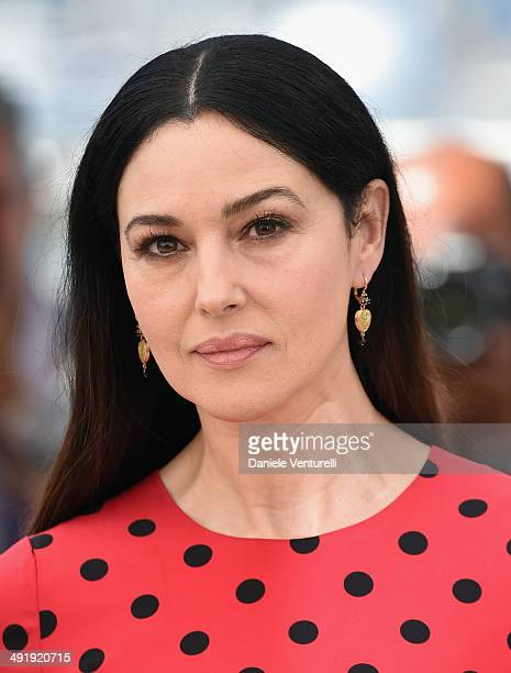 Actress Monica Bellucci attends 'The Wonders' photocall at the 67th Annual Cannes Film Festival on May 18 2014 in Cannes France