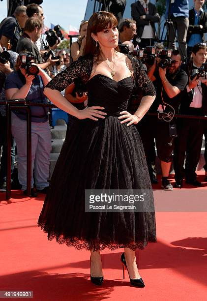 Actress Monica Bellucci attends 'The Wonders' Premiere at the 67th Annual Cannes Film Festival on May 18 2014 in Cannes France