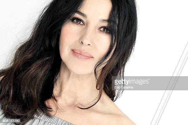 Actress Monica Bellucci is photographed for Self Assignment on September 17 2016 in San Sebastian Spain