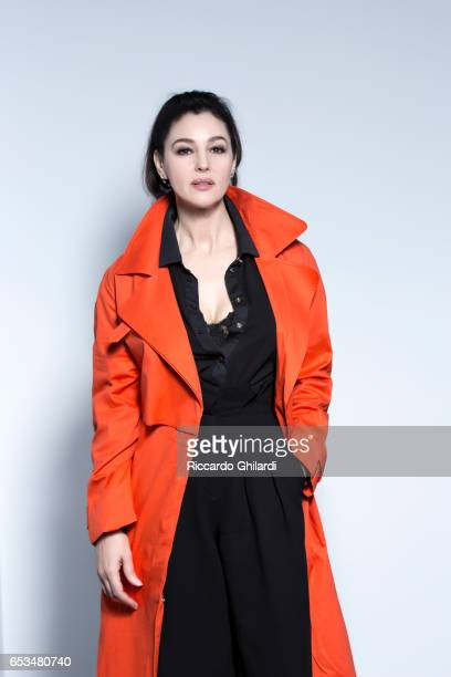 Actress Monica Bellucci is photographed for Self Assignment on March 3 2017 in Mumbai India