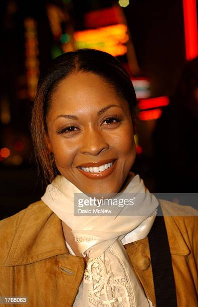 Actress Monica Calhoun arrives for the screening of Civil Band during the Pan African Film Arts Festival on February 6 2003 in Hollywood California