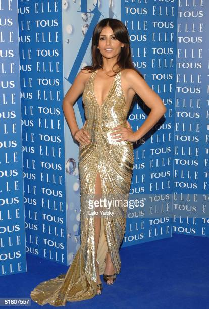 Actress Monica Cruz attends 7th ELLE Awards held at the MNAC on June 12 2008 in Barcelona Spain