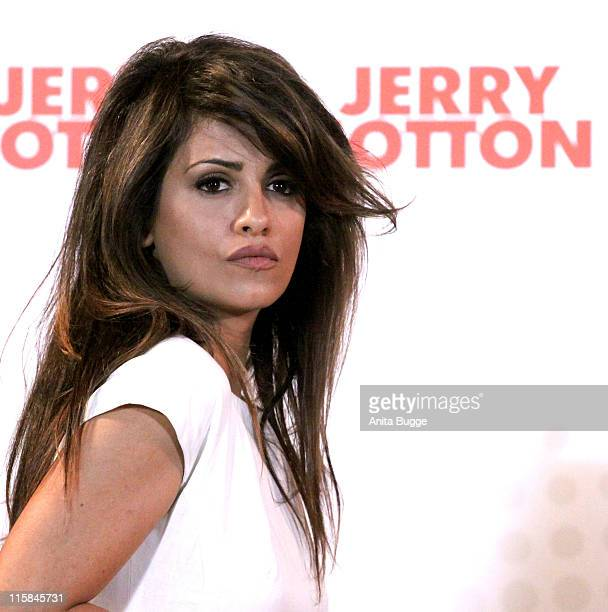 Actress Monica Cruz attends the 'Jerry Cotton' press conference on May 12 2009 in Berlin Germany
