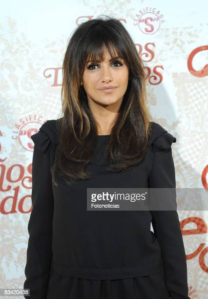 Actress Monica Cruz attends the 'Los Aos Desnudos' premiere at the Capitol Cinema on October 23 2008 in Madrid Spain