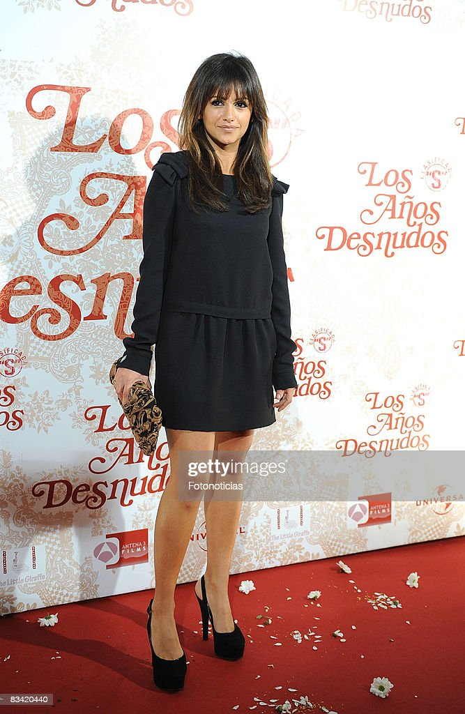 Actress Monica Cruz Attends The Los Aos Desnudos Premiere At The