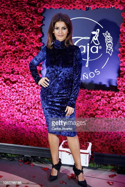 Actress Monica Cruz attends the 'Maja' fragance 100th anniversary party at the Palace Hotel on October 16 2018 in Madrid Spain