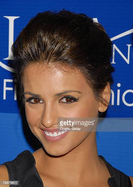 Actress Monica Cruz attends the world premiere of 'The Inquiry' during the 'Los Angeles Italia' Film Festival at the Mann Chinese 6 Theaters on...