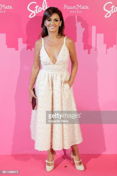 Actress Monica Cruz attends the 'World Pride preparty' photocall at Oscar hotel on June 26 2017 in Madrid Spain