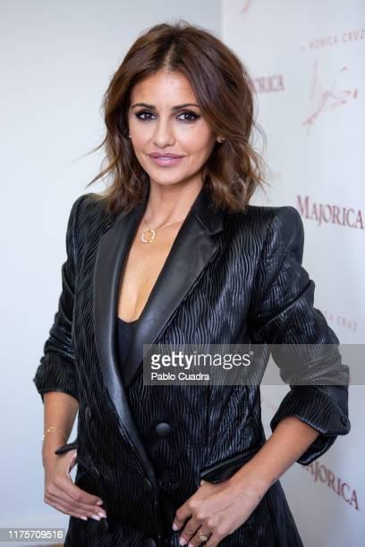 Actress Monica Cruz presents Majorica Jewelry collection on September 19 2019 in Madrid Spain