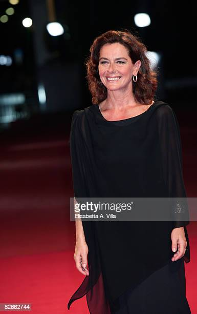 Actress Monica Guerritore attends the 'Yuppi Du' premiere during the 65th Venice Film Festival on September 4 2008 in Venice Italy
