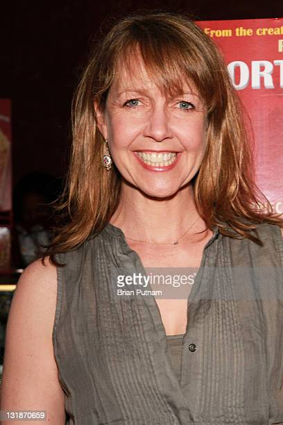 Actress Monica Horan arrives at the Los Angeles Premiere of Exporting Raymond at the Landmark Theater on April 13 2011 in Los Angeles California