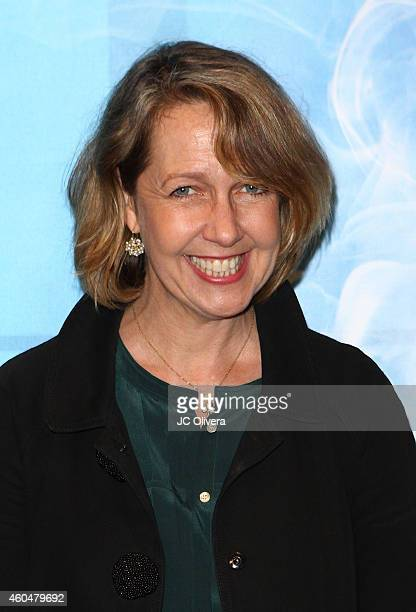Actress Monica Horan attends Noel Coward's 'Blithe Spirit' at Ahmanson Theatre on December 14 2014 in Los Angeles California