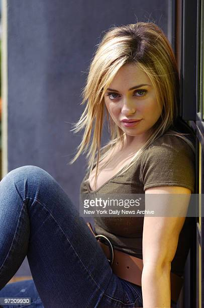 Actress Monica Keena at Park Ave South and 20th St She stars in the upcoming film Long Distance a psychological thriller which will be shown at the...