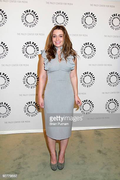 Actress Monica Keena attends 'Dawson's Creek A Look Back' at The Paley Center for Media on November 4 2009 in Beverly Hills California